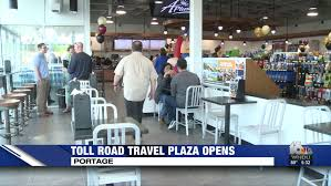 Indiana travel stores images New in toll road travel plaza opening marked jpg