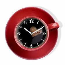 horloge pour cuisine moderne horloge murale de cuisine moderne la tasse perfetta pour café