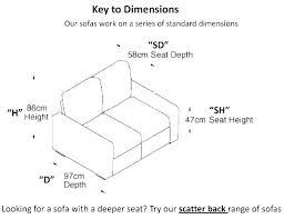 sofa seat depth measurement typical seat height typical seat height sofa seat height typical