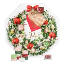 2017 advent wreath gift set yankee candle