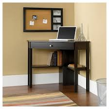 Cherry Computer Desk Hutch Beginnings Corner Computer Desk Cinnamon Cherry Sauder Target