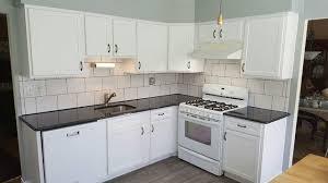 antique white kitchen cabinet refacing earth smart remodeling inc cabinet refacing before and