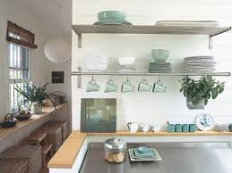Kitchen Without Upper Cabinets by Kitchen Stainless Steel Floating Shelves Kitchen Wainscoting