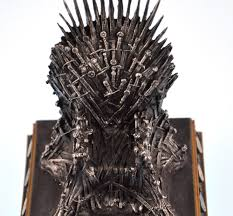 the iron throne the game of thrones replica ebay