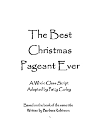 script for the best pageant by curley tpt
