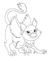 monster high pets coloring pages with regard to inspire in