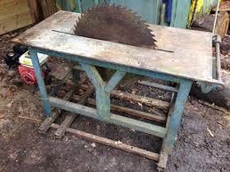bench for circular saw logging saw bench ebay