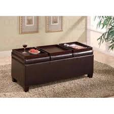 Storage Ottoman Coffee Table Fancy Ottoman Coffee Table With Storage Best Ideas About Leather