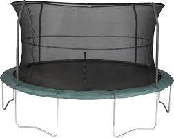 jumpking 14 u0027 orbounder trampoline with enclosure u0026 reviews wayfair
