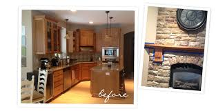 Painting Old Kitchen Cabinets Before And After Before U0026 After Kitchen Facelift With Chalk Paint Ecochic