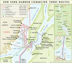 map for new york map of nyc ferry stations lines