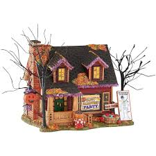amazon com department 56 halvl halloween party house lit house