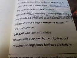 explanation of julius caesar drama part 1 of class 10 in hindi
