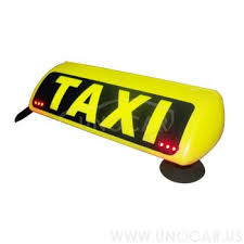 Taxi Light Car Roof Box With Magnet Led Light Box Taxi Led Top Advert Taxi