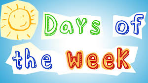 days of the week fun kindergarten lesson for kids youtube