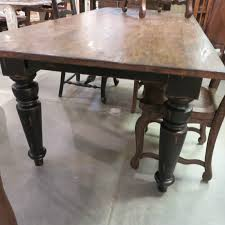 Black Dining Table Rustic Farmhouse Dining Table 72 Black Distressed Reclaimed Wood