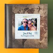 honeymoon photo album personalised honeymoon photo album by 2by2 creative