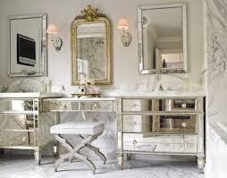 Mirrored Bathroom Furniture Mirrored Glass Furniture Glass