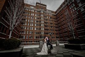 spokane wedding photographers markie mike davenport hotel wedding spokane wedding