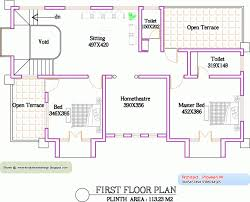 first floor house plans in india unique house plan kerala home design floor modern decorative