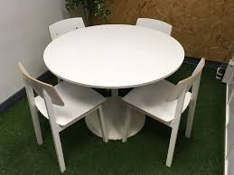 furniture saarinen style tulip table docksta table ikea white