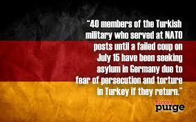 Seeking German German Media 40 Turkish Members Seeking Asylum In