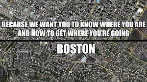 chicago map meme nyc vs boston imgur