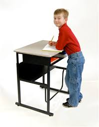 stand up for learning with alphabetter student desks