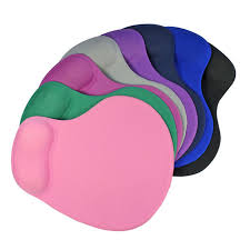 Comfortable Mouse 2017 New Colorful Comfortable Mouse Pad With Gel Wrist Support