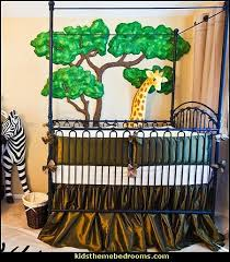Jungle Nursery Wall Decor Decorating Theme Bedrooms Maries Manor Jungle Baby Bedrooms