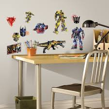 Cool Wall Decals by Roommates Transformers Age Of Extinction Peel And Stick Wall