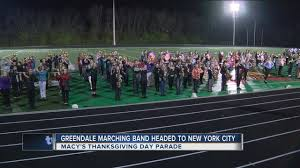 greendale high gets it s chance at macy s thanksgiving day parade