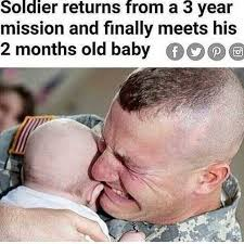 Old Baby Meme - dopl3r com memes soldier from 3 returns a year mission and