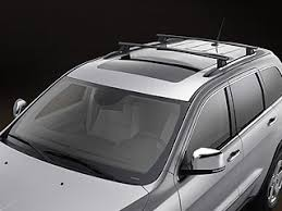jeep grand luggage rack jeep roof rack w cross rails removable mopar 822212072ad