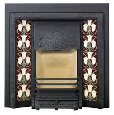 stovax art nouveau tiled fireplace front victorian fireplace store