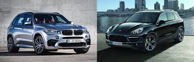 porsche truck 2016 bmw x5 m or porsche cayenne turbo s which one would you buy
