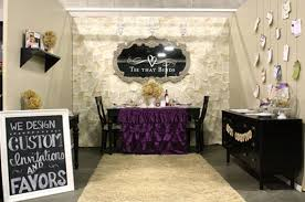 wedding expo backdrop booth display it s in the details real display and booth