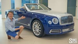 bentley showroom bentley grand convertible by mulliner surfaces in dubai showroom