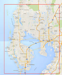 Pasco County Florida Map by 360tourvision U2013 Local Service Areas