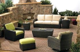 Patio Furniture Resin Wicker by Black Wicker Outdoor Furniture Resin Black Resin Outdoor Chairs