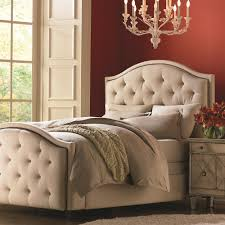 High Headboard Bed Bassett Custom Upholstered Beds Vienna Upholstered Headboard