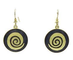 laurel burch earrings laurel burch gold infinity dangle earrings