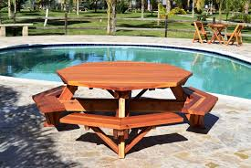 diy octagon picnic table plans octagon picnic table plans u2013 home