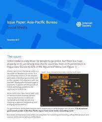 bureau social issue paper pacific bureau social media society