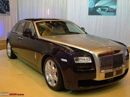 roll royce brown rolls royce u0027s u0027ghost u0027 to haunt indian roads on 4th dec edit