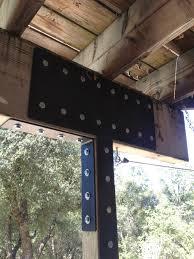 Metal Deck Bench Brackets - living iron deck brackets