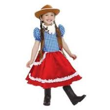 cowgirl costume ideas and costume sets for girls with cowboy hats