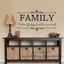 Best Wall Decals Images On Pinterest Wall Decal Vinyl Wall - Family room wall quotes
