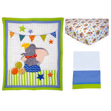 Dumbo Crib Bedding Disney Baby Bedding Dumbo 3 Crib Bedding Set Walmart