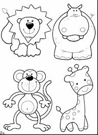 magnificent sloth rainforest animals coloring pages with jungle
